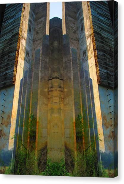Totem Canvas Print by Michele Caporaso