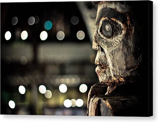Totem Spirit Canvas Print