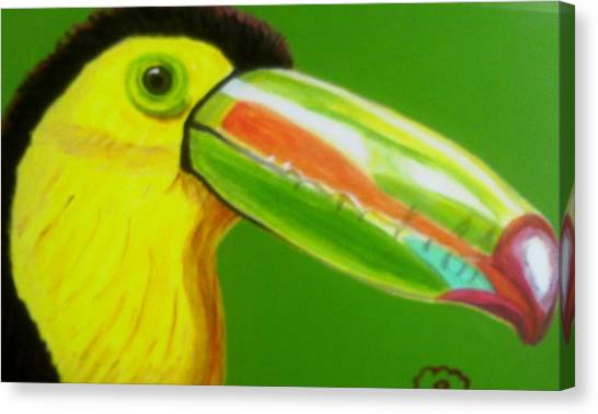 Toucan Bird Canvas Print by Annette Stovall