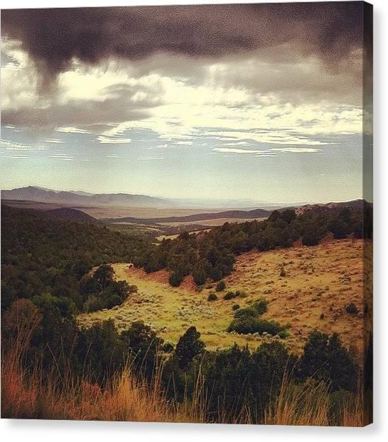 Utah Canvas Print - Touch The Sky by Jason Ogle