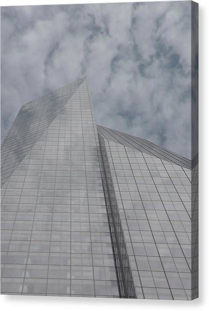 Touching The Sky Canvas Print by Cathy Brown