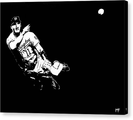 Tough Play Canvas Print by Matthew Formeller