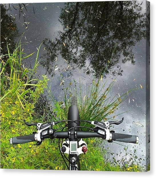 Sports Canvas Print - Tour De Aqua by Michael Mogensen