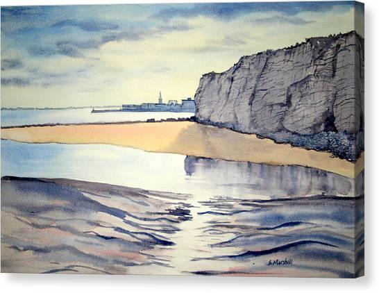 Towards Bridlington From Dane's Dyke Canvas Print