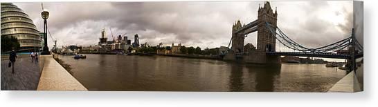 Tower Bridge Canvas Print by Keith Sutton