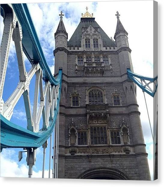 London2012 Canvas Print - Tower Bridge #towerbridge #london by Luke Cameron