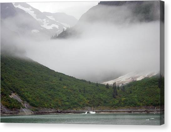 Tracy Arm Inlet Canvas Print