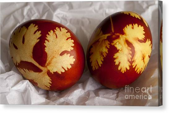 Easter Eggs Canvas Print - Traditional Easter Eggs by Blink Images