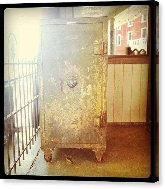 Virginia Canvas Print - Train Locker by Michelle White