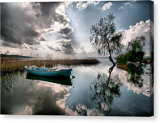 Tranquility - 3 Canvas Print