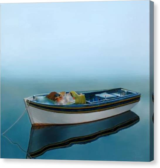Tranquility Of The Sea Canvas Print
