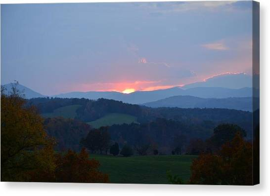 Tranquill Sunset Canvas Print