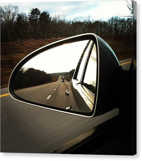 Interstates Canvas Print - #traveling #road #driving #tennessee by S Smithee