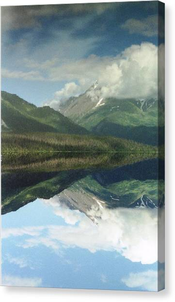 Traveling To Seward Canvas Print by Ann Marie Chaffin