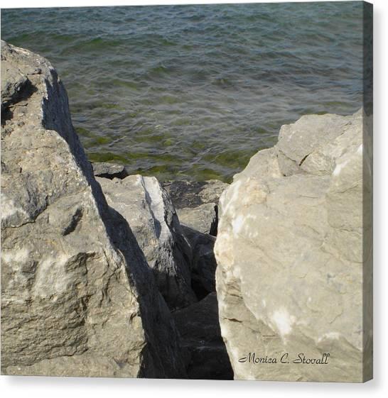 Traverse Bay Shoreline Collections - Michigan Canvas Print