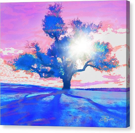 Tree Art 001 Canvas Print