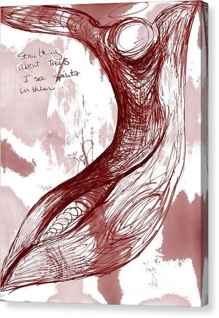 Tree Spirit 1 Canvas Print