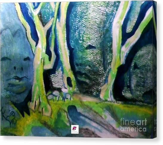 Tree Spirit Study Canvas Print