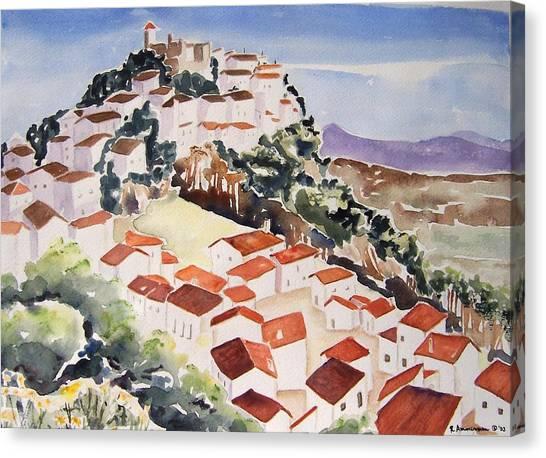 Tresorio De San Martin Canvas Print by Regina Ammerman