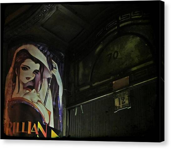 Budapest Canvas Print - Trillian - Manga Store In Budapest by Marianna Mills