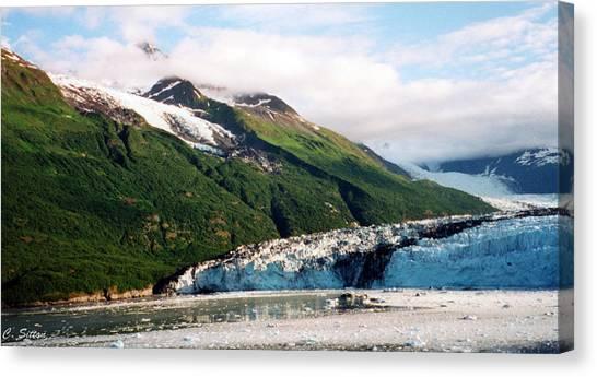 Trip To Glacier Bay Canvas Print