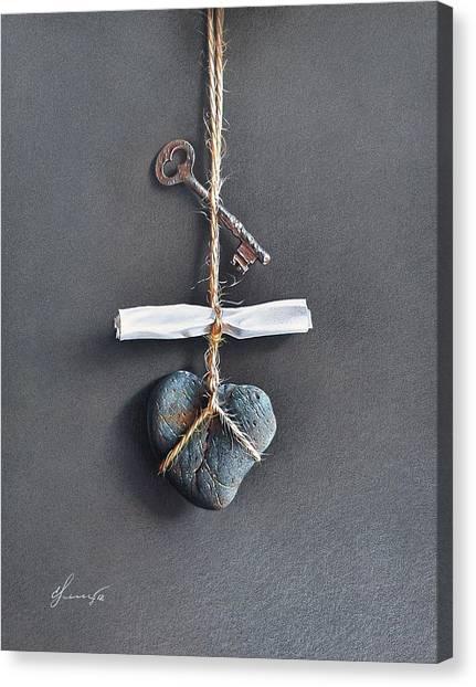 Trompe Loeil - Intimate Note Canvas Print