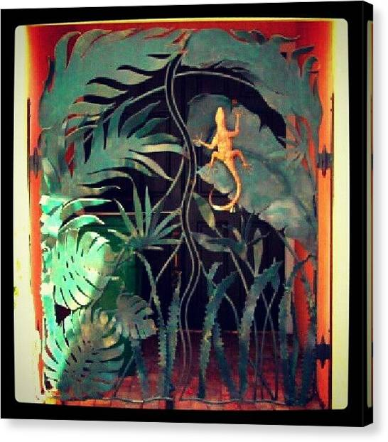 Portal Canvas Print - Tropical Entrance by Stan Homato