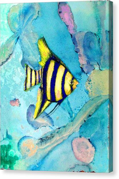 Tropical Fish I Canvas Print