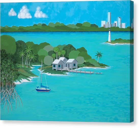 Tropical Idyll Canvas Print
