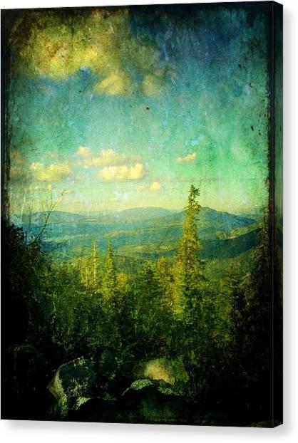 Truckee Trails Canvas Print