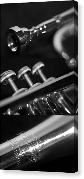 Trumpet II Canvas Print by Paul Sisco
