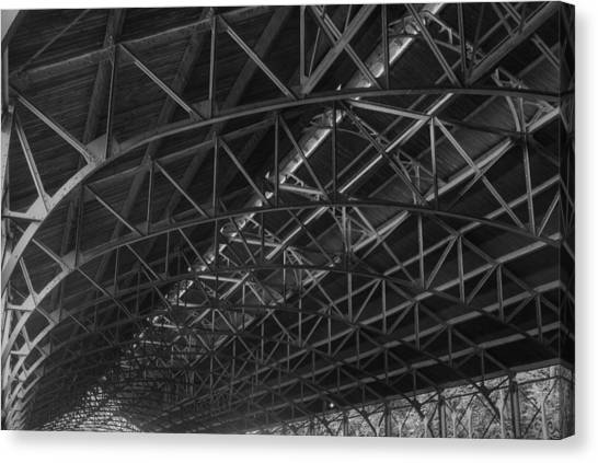 Trussed Roof Canvas Print