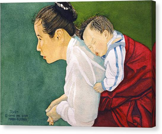 Canvas Print - Trust by Chae Min Shim