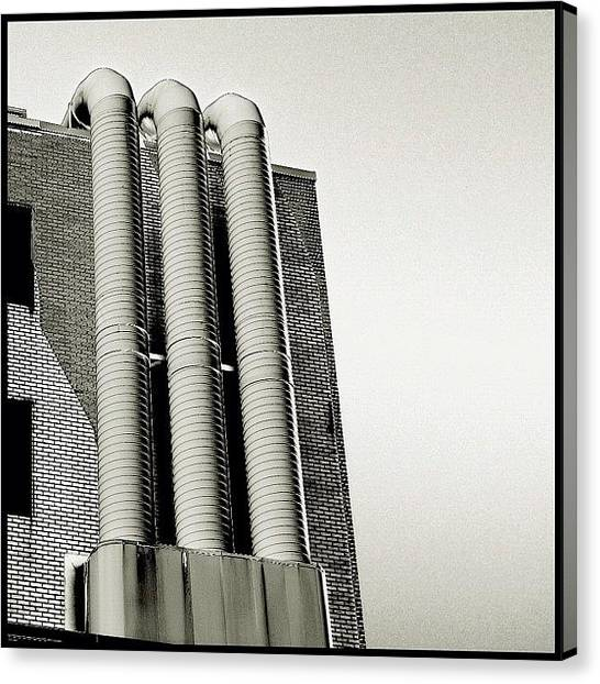 Seattle Canvas Print - Tubes by T Catonpremise