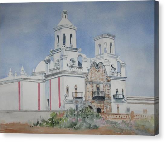 Tucson Mission Canvas Print