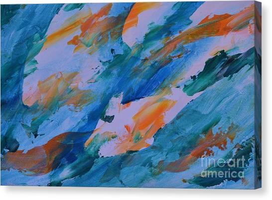 Tuna Run Canvas Print
