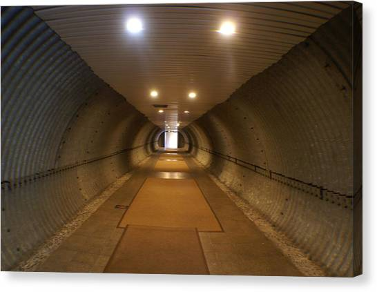Tunnel Canvas Print by Margaret Steinmeyer