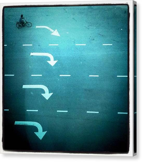 Georgetown University Canvas Print - Turn Right by Yong-Le Chong
