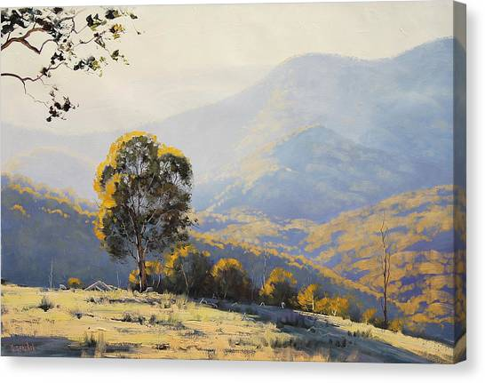 Australian Canvas Print - Turon Hills by Graham Gercken