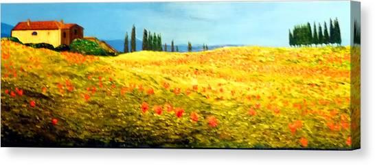 Tuscan Beauty Canvas Print