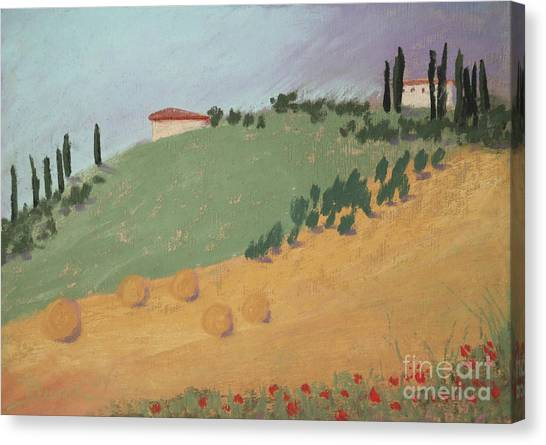Tuscan Farm Canvas Print