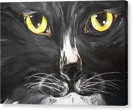 Tuxedo Meisty Canvas Print