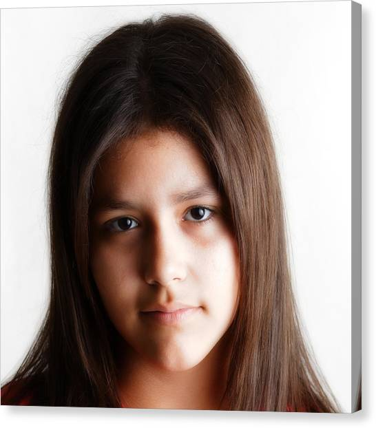 Twelve Year Old Published Author Canvas Print by Miguel Capelo