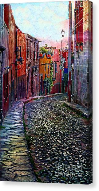 Twilight In San Miguel De Allende Canvas Print