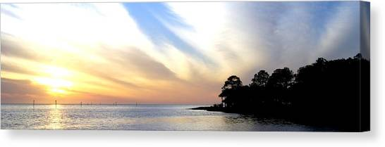 Twilight On The Gulf Canvas Print