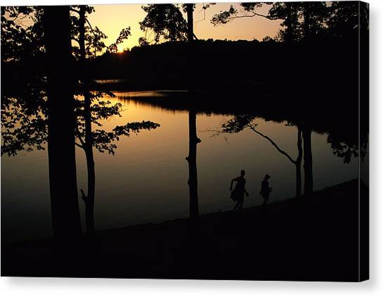 Walden Pond Canvas Print - Twilight Over Walden Pond, Made Famous by Tim Laman