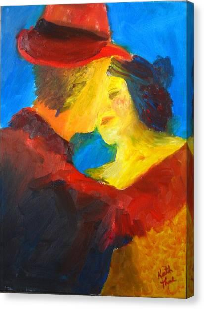 Two Am Tango Canvas Print