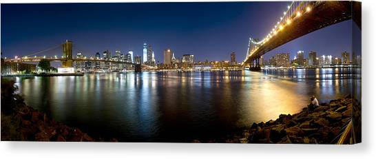 Two Bridges Canvas Print