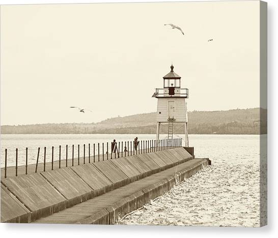 Two Harbors Canvas Print