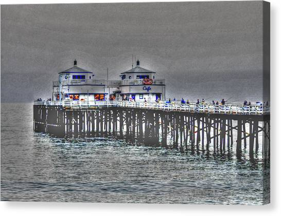 Two Towers Malibu Canvas Print